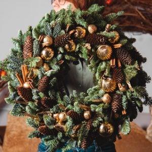 Новогодняя флористика и декор 5