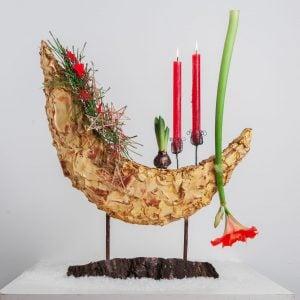 Новогодняя флористика и декор 10