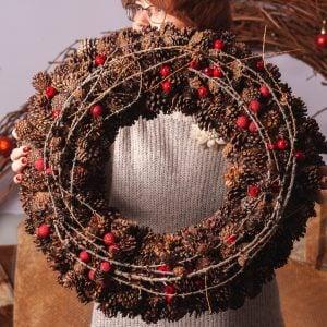 Новогодняя флористика и декор 6