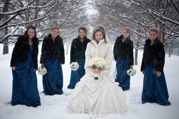 Свадебные аксессуары для зимних свадеб 2