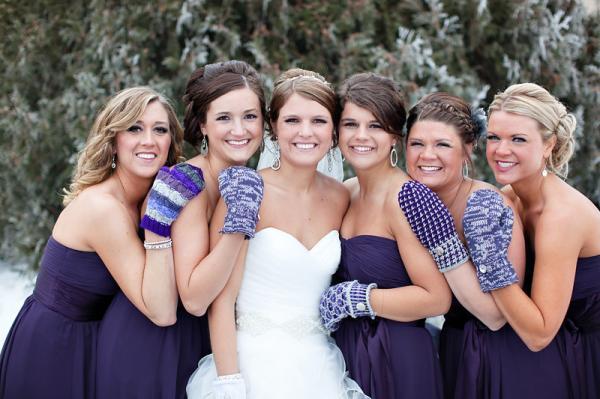 Свадебные аксессуары для зимних свадеб 1