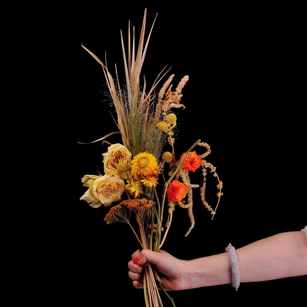 композиция, сухоцветы
