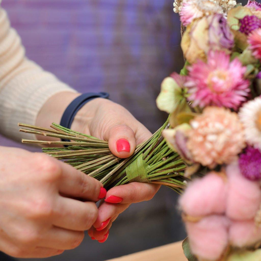 Свадебный букет из сухоцветов! 3