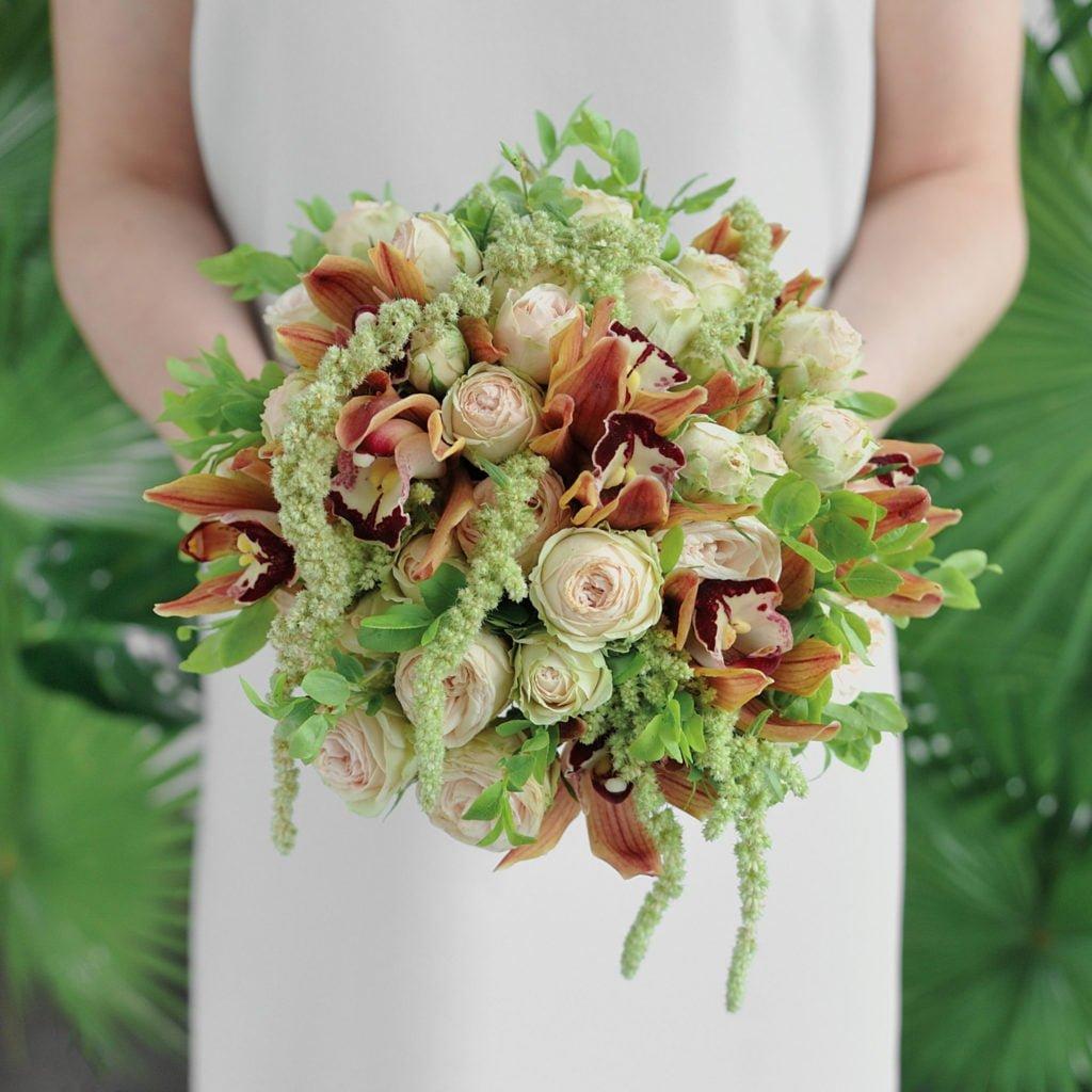 Обучение свадебным букетам! Курсы флористики для начинающих!