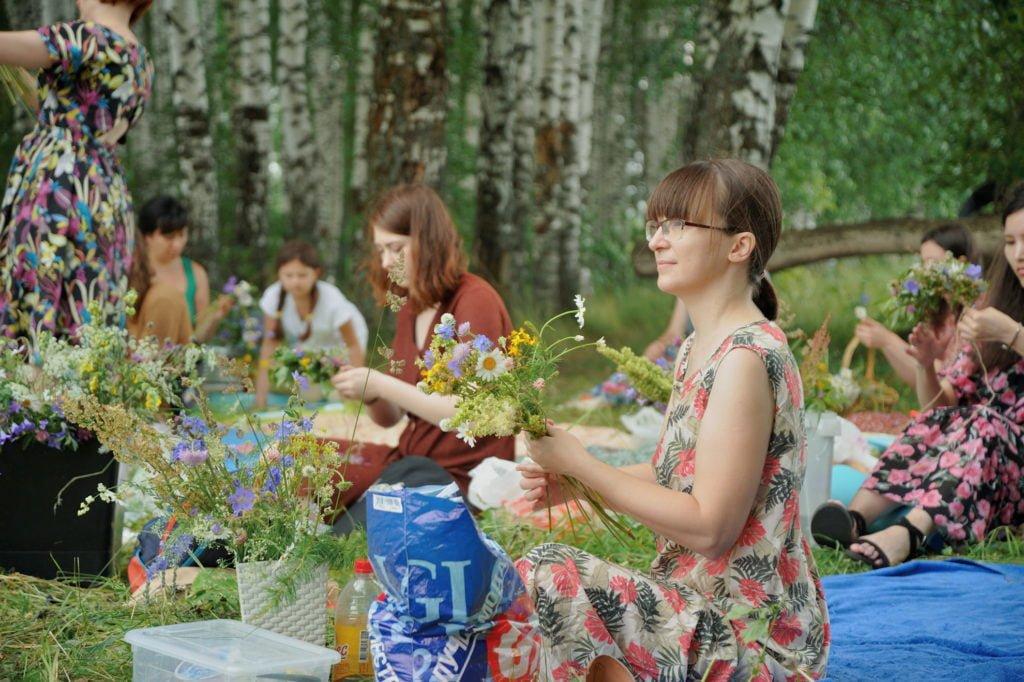 Флоришник от Казанской школы флористики! Было круто! 1